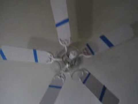 What Happens When You Put Tape On A Fan