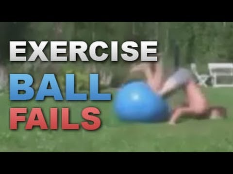 3 Minutes Of Absurd Exercise Ball Fails