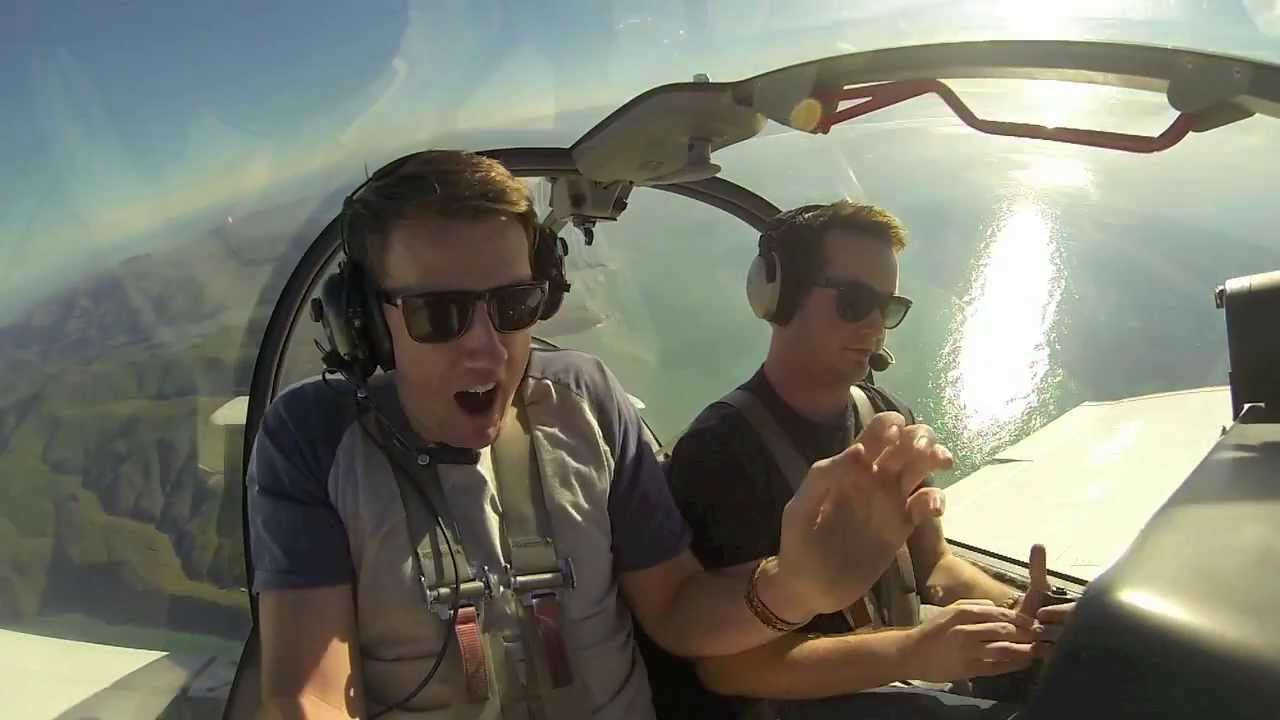 Aerobatics With Someone Scared Of Flying
