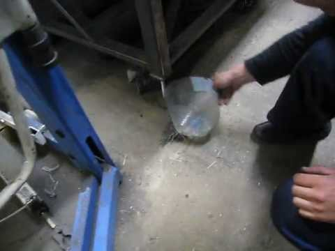 Cleaning Up A Metalworking Shop With A Gigantic Magnetic