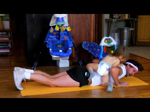 How To Work Out At Home With Your Kids