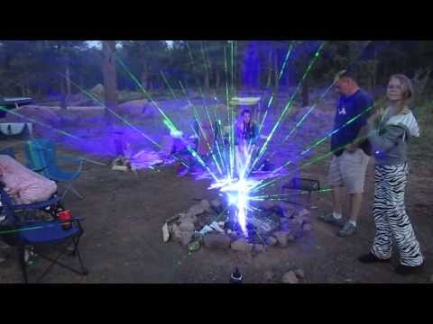 Video thumbnail for youtube video Shooting High Powered Lasers Into A Fire