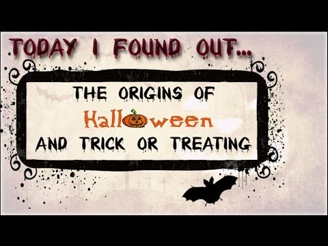 Video thumbnail for youtube video The Origins Of Trick Or Treating