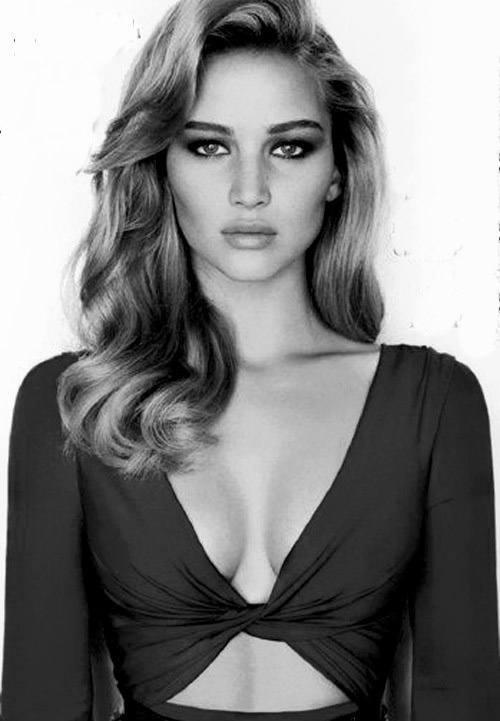 Black And White Jennifer Lawrence
