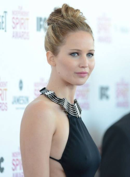 Jennifer Lawrence Pictures black Dress