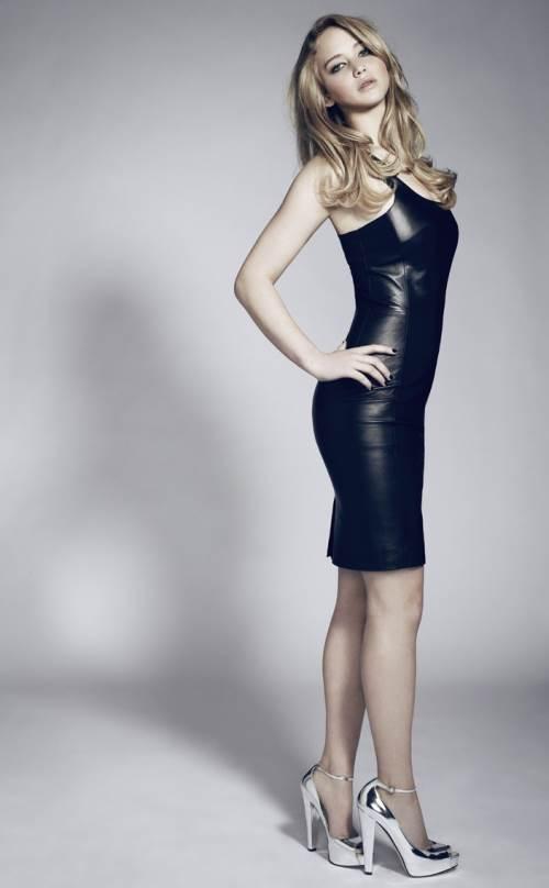 Tight Dress Worn By Jennifer Lawrence