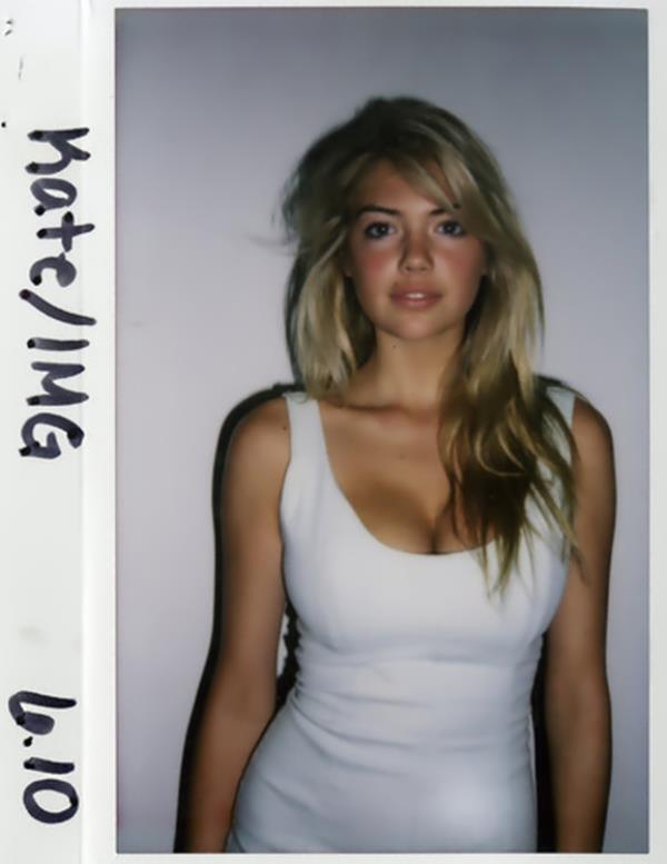 Kate Upton Model Test Photo