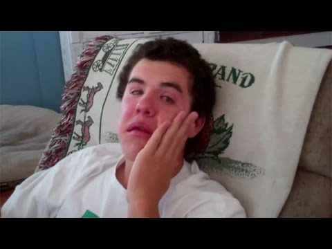 Video thumbnail for youtube video Kid Freaks Out After Wisdom Tooth Surgery