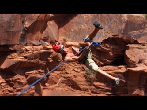 Video thumbnail for youtube video Ridiculous Highlining