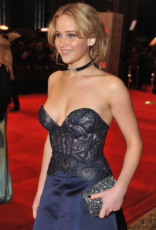 Sexiest Jennifer Lawrence Pictures Cleavage