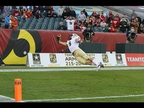 The Most Amazing Football Catch You'll Ever See
