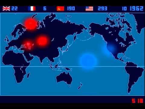 Video thumbnail for youtube video 53 Years Of Nuclear Weapons Testing