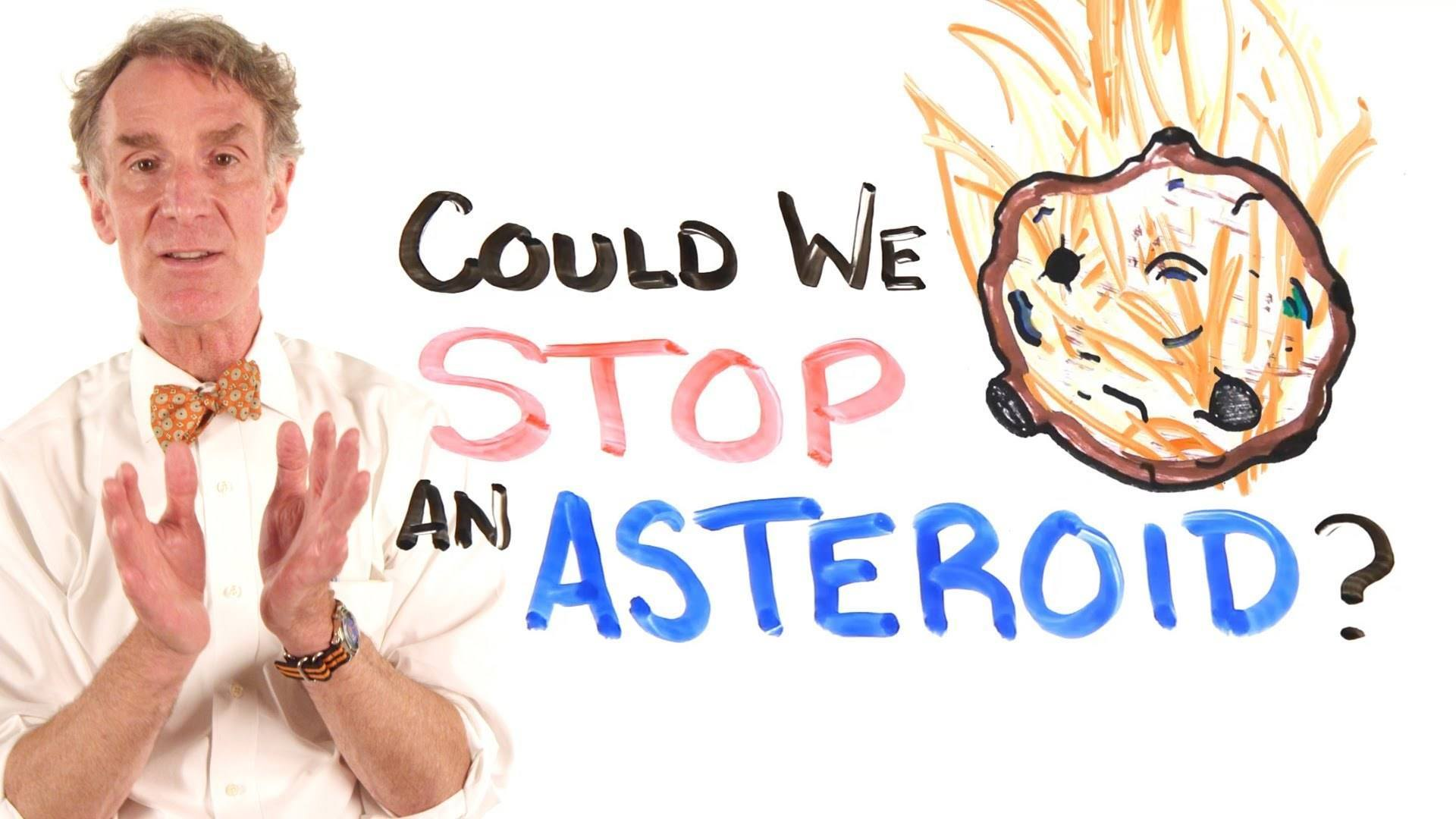 Video thumbnail for youtube video Could Humanity Stop An Asteroid?