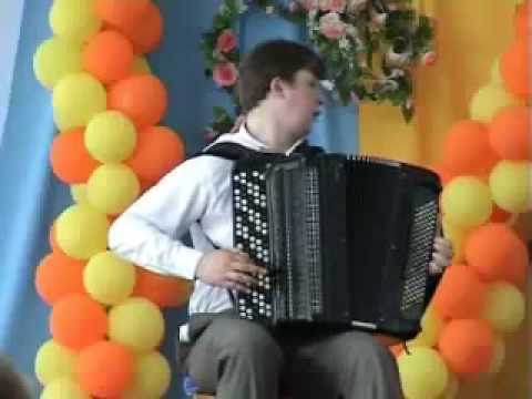 The Most Bad Ass Accordion Player Ever