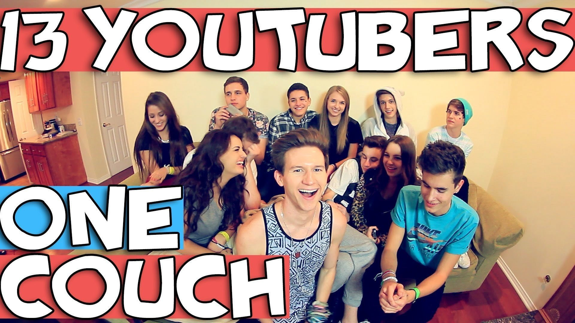 13 YouTubers, One Couch