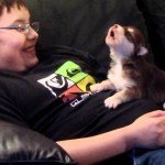 20 Day Old Husky Learns To Howl