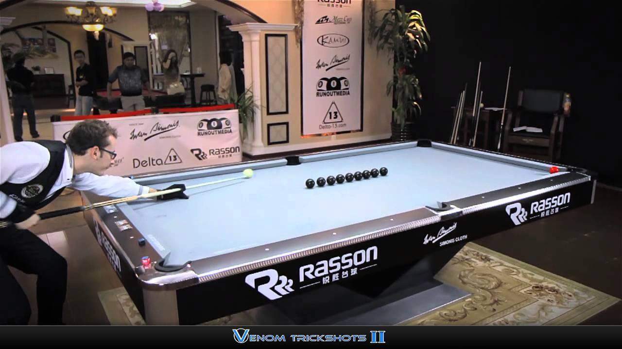 Absurdly Good Billiards Tricks