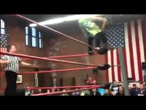Amateur Wrestling Goes Very Wrong