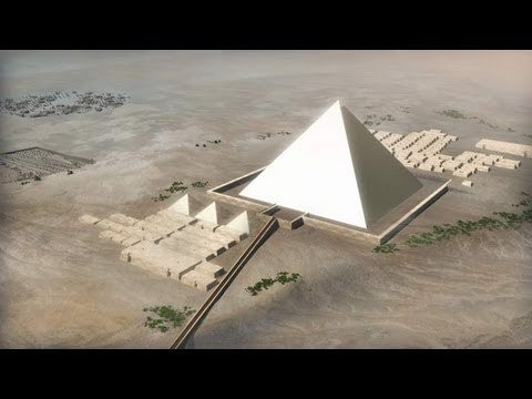 Video thumbnail for youtube video How The Pyramids Were Constructed