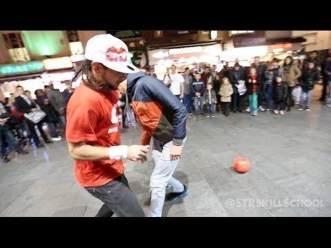 Insane Street Football Skills