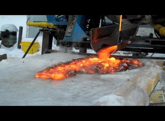 What Happens When Lava Meets Ice