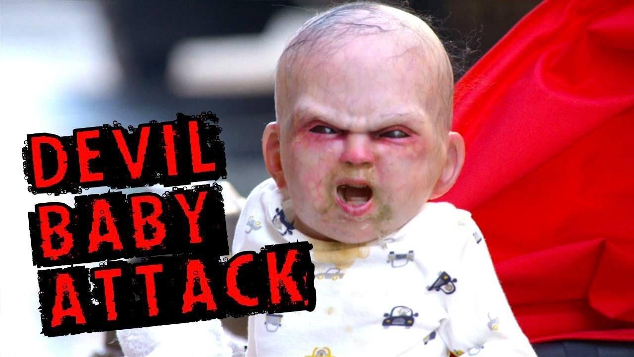 Hilarious Devil Baby Prank