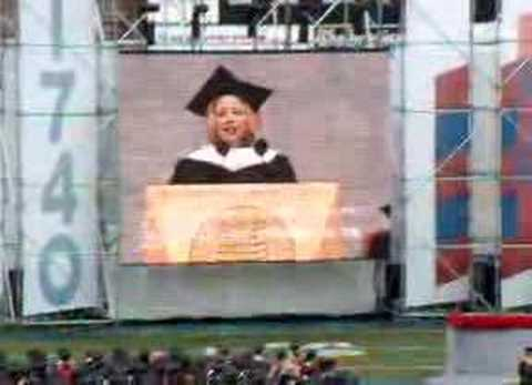 Jodie Foster Tries To Quote Eminem During Commencement Speech