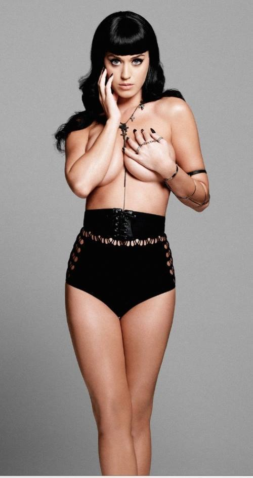 Katy Perry Topless