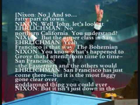 Richard Nixon Ruminates On All In The Family & Homosexuality