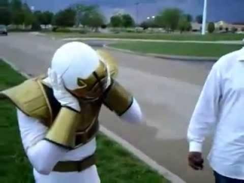 White Power Ranger Goes To The Hood