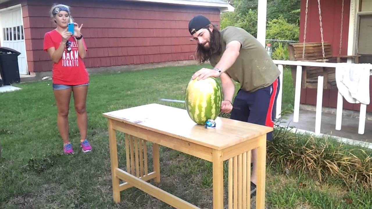 Why You Don't Cut A Watermelon With A Sword