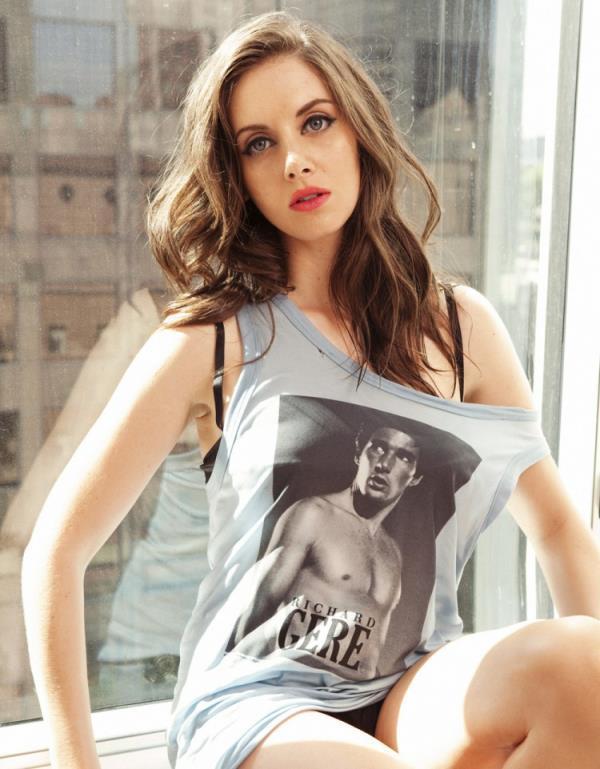 Alison Brie Posing