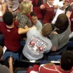 Bama Fan Goes Superman On Oklahoma Fan