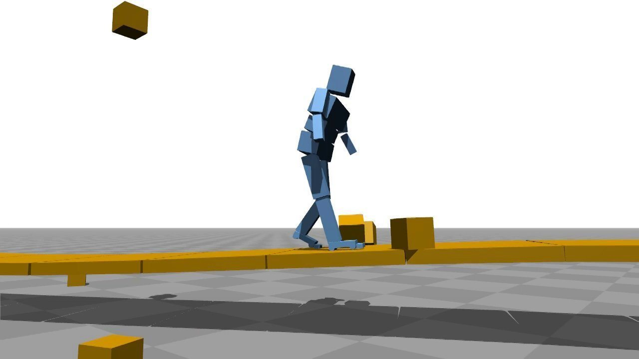 Computer Simulations Teach Themselves To Walk