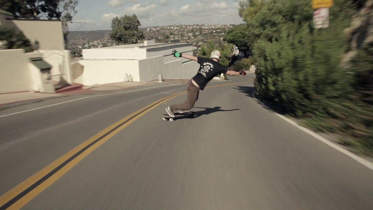 Epic Downhill Skateboarding