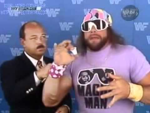 Macho Man Randy Savage Delivers The Greatest Speech In Human History