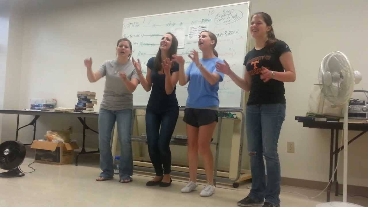 Towson University's Awesome Female Barbershop Quartet