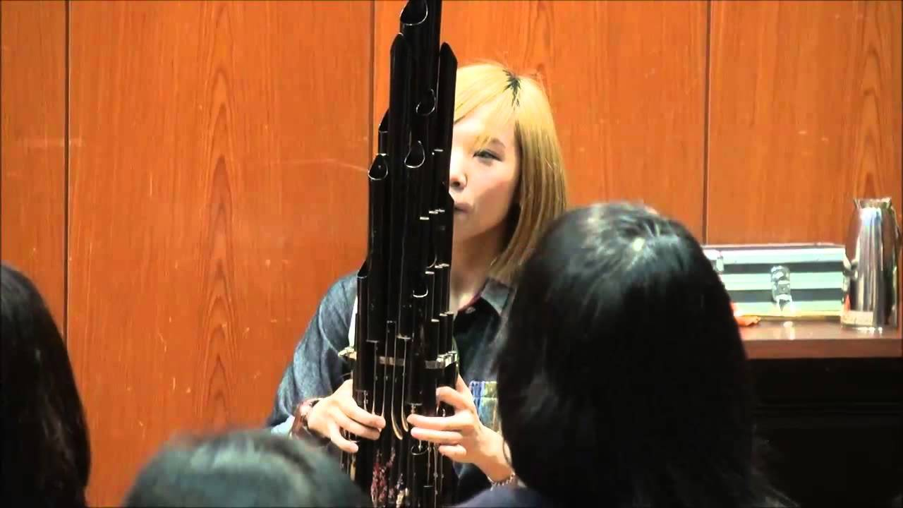 Using An Ancient Chinese Instrument To Play The Mario Theme Song