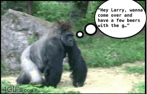 Checking On Larry