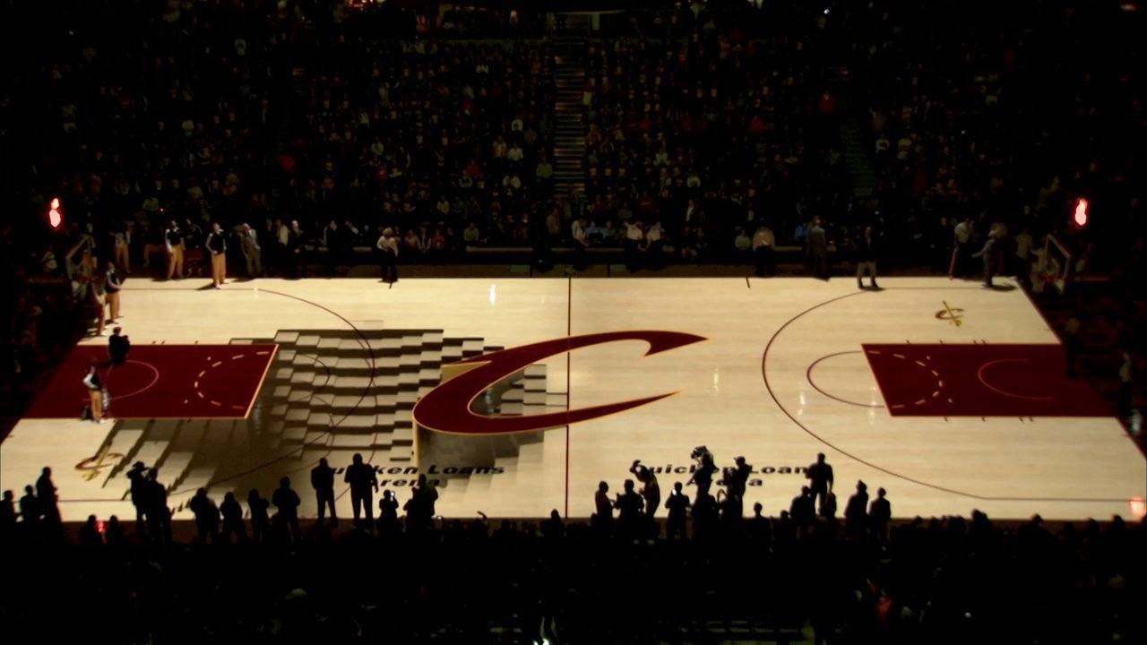 The Unbelievable Court Projection Of The Cleveland Cavaliers