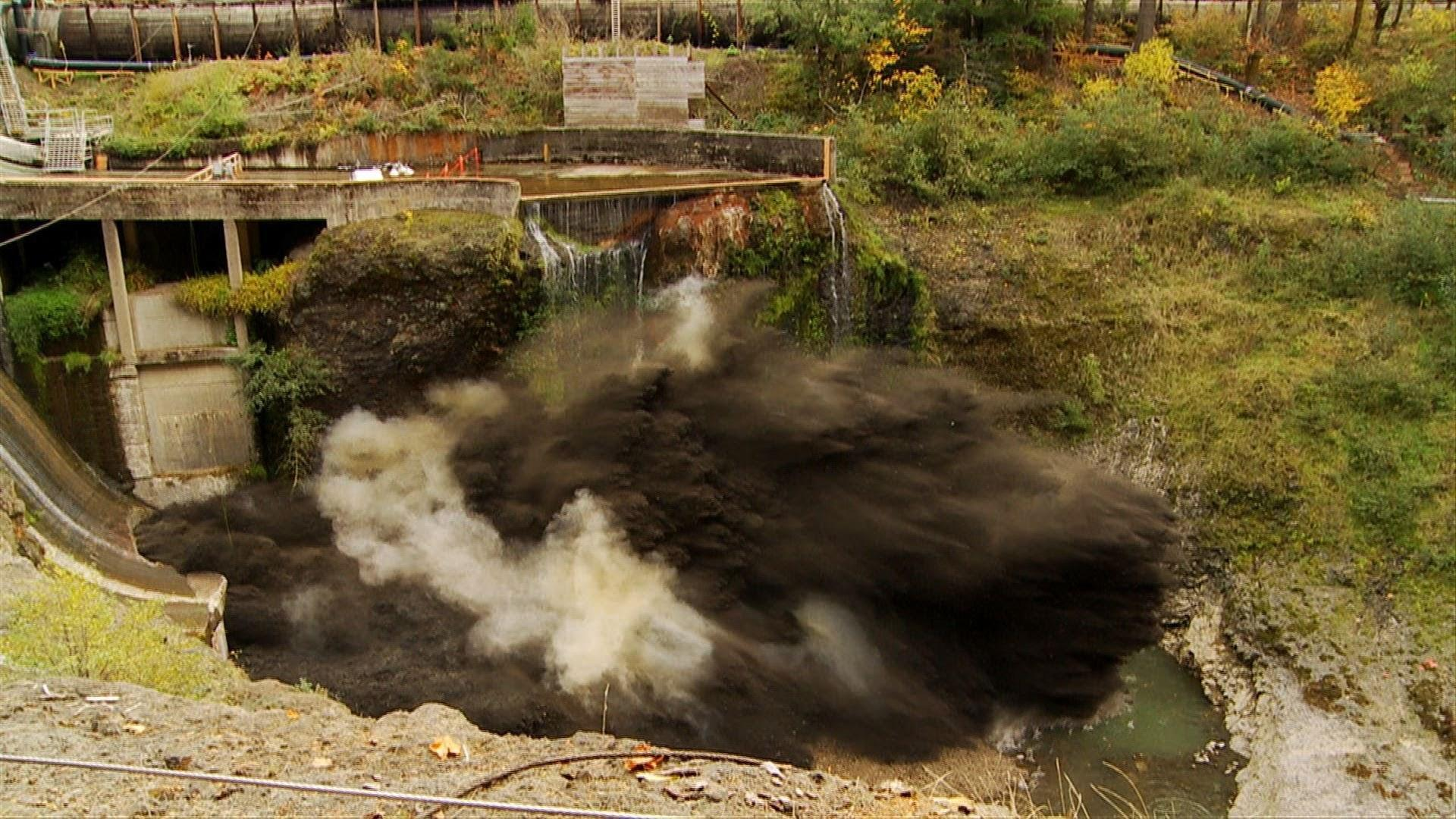 Blowing Up A Dam… When There Is Still Water Behind It