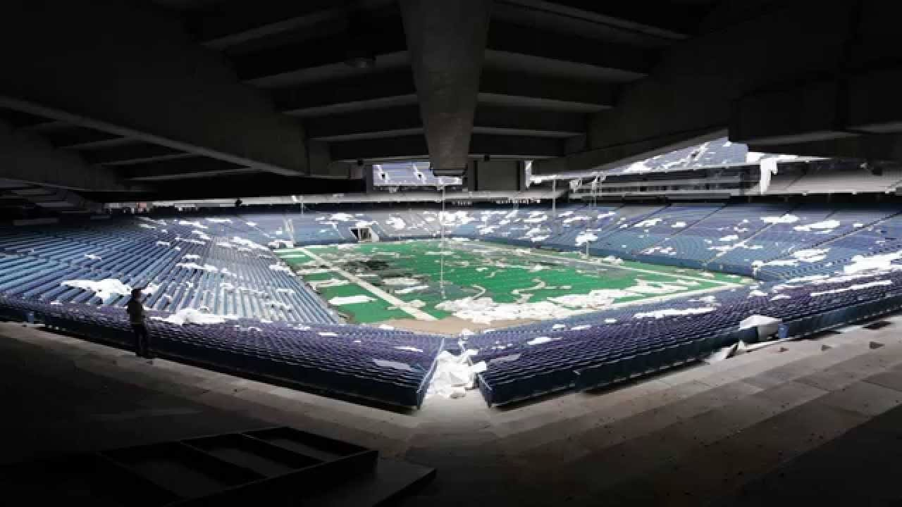 Nature Begins To Takeover The Silverdome