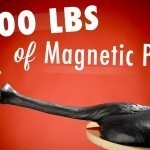 Playing With 100 Pounds Of Magnetic Putty