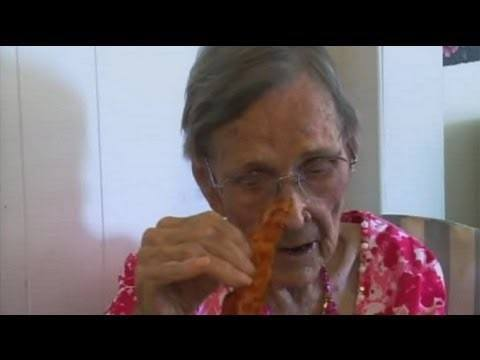 105 Year Old Credits Her Longevity To Bacon