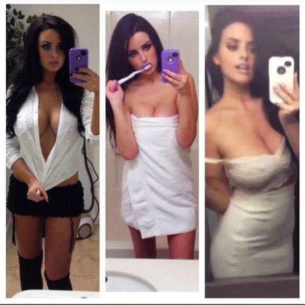 Abigail Ratchford Sexy Selfie