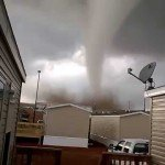 Amazing First Hand Footage Of A Tornado Touching Down In North Dakota