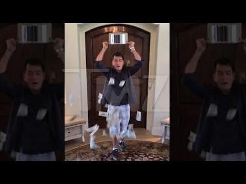 Charlie Sheen Just Won The Ice Bucket Challenge