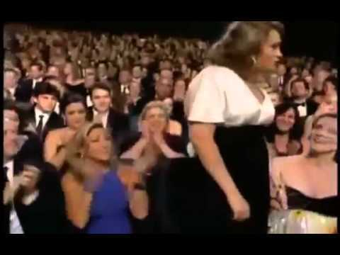 Merritt Wever's Ridiculous Emmy Acceptance Speech