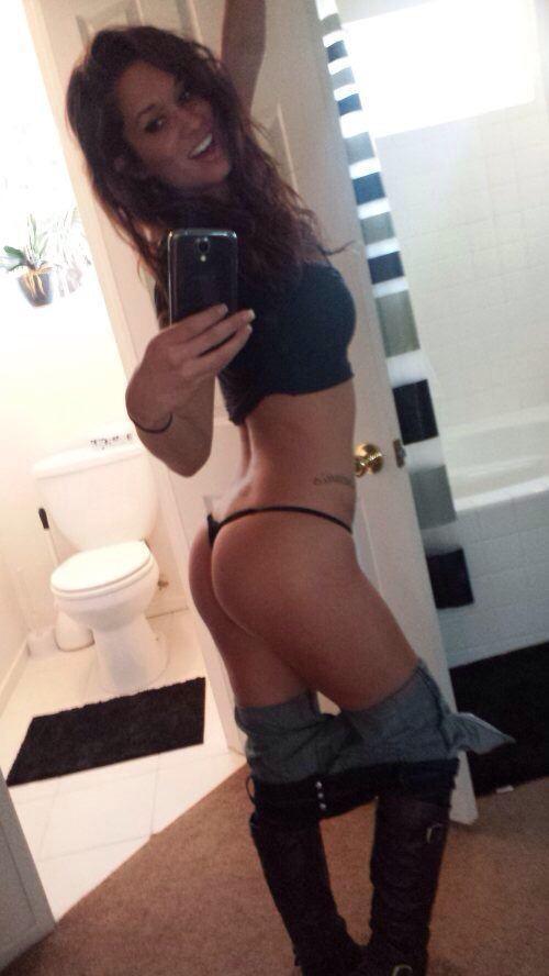 Hot Selfie In A Thong