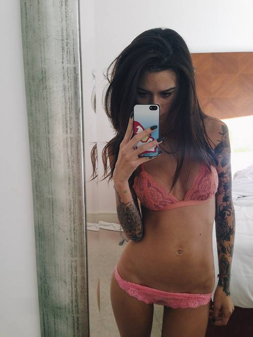Sexy Selfie Tattoo